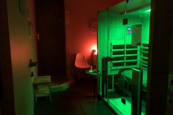 Room 4 at Elevated Sauna Studio in Las Vegas & Henderson